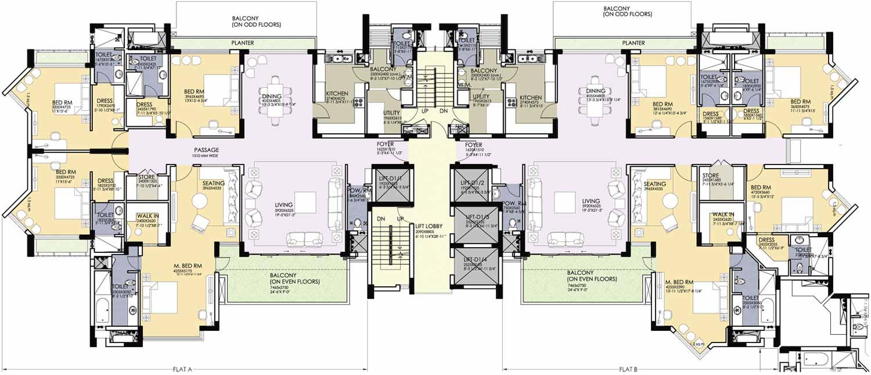 Hibiscus for Apartment block floor plans